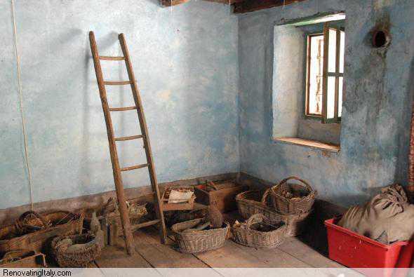 Bobbio Pellice ladder