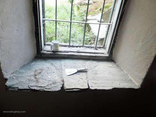 italian renovation window