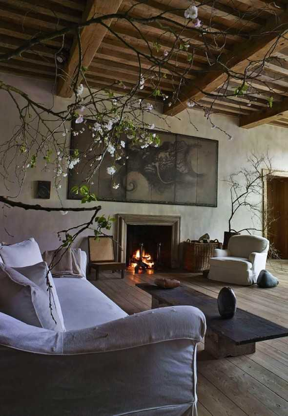 Italian Living Room Design: Rustic Italian Living Room